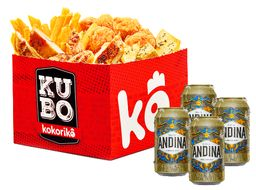 Super Kubo Mixto + 4 Andinas