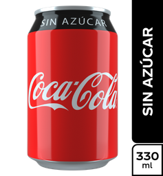 Coca Cola Sin Azúcar 330 ml