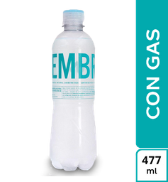 Agua Siembra Con Gas 477 ml