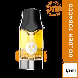 Golden Tobacco - VPRO 18 mg/ml - Cápsula para Vype ePod
