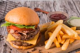 Double Bacon Cheese Burger
