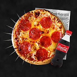 Rappi Lunch: Pizza Personal + Coca Cola 250 ml
