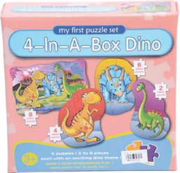 Rompecabezas Dinosaurios 20 Piezas Caja