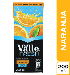 Del Valle Fresh Naranja 200 ml