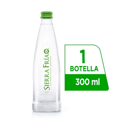 Sierra Fría con Gas 300 ml