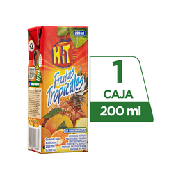 Hit Frutas Tropicales Tetra Pack 200 ml