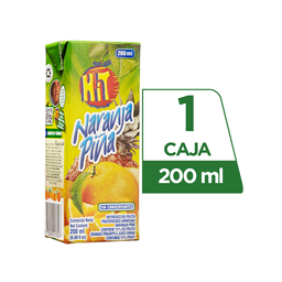 Hit Naranja Piña Tetra Pack 200 ml