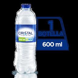 Agua Sin Gas Cristal 600 ml
