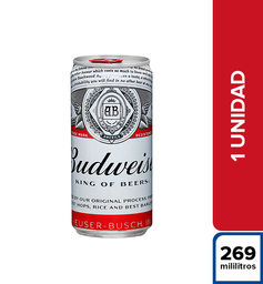 Cerveza Budweiser King Of Beers 269 ml