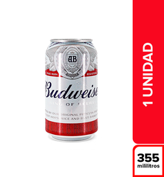 Cerveza Budweiser King Of Beers 355 ml