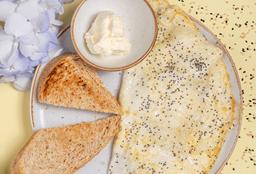 Omelette de Claras de Huevo