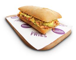 Sandwiche de temporada (Sanduche Asado de Costilla)