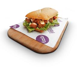 Sandwiche de temporada (Sanduche Chicharrón Campestre)