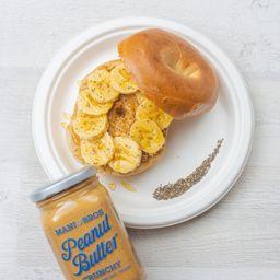 Bagel de Mani y Banano