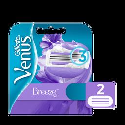 Cartuchos de Afeitar Gillette Venus Breeze 2 Unidades