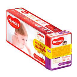 Pañales Huggies Natural Care Etapa 3/G, 50Ud