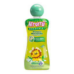 Shampoo Arrurrú Manzanilla Frasco 220 ml