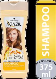 Shampoo Konzil Nutricion E Hidratacion Aceite De Argan 375Ml