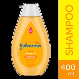 Shampoo Johnson's Baby Suavidad Para Sus Ojos Frasco Con 400 mL