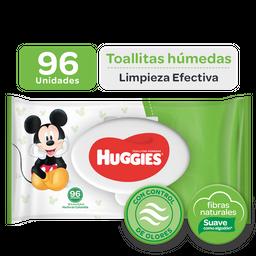 Toallitas Húmedas Huggies Active Fresh Disney Empaque Con 96 Un