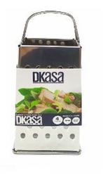 Rallador Dkasa de 4 Caras Acero Inoxidable Pequeño 1 U