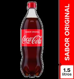 Gaseosa - Coca Cola Original - Botella Pet 1500 Ml