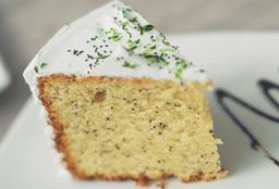 Porción de Torta Amapola