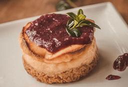 Cheesecake Horneado de Mora