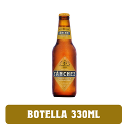 Cerveza Sánchez Dorada 330ml