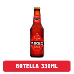 Cerveza Sánchez Roja 330ml