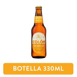 Cerveza Colón Golden Ale Rubia 330ml