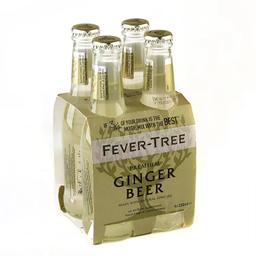 Ginger Beer Fever-Tree Premium 200 x 4
