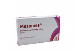 Mesames 3 Mg/0,03 Mg Tab Recub. Caj X 28