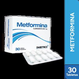 Metformina Clorh 850Mg Tab Diabet Cj X 30