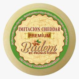 Queso de Almendras Tipo Cheddar Redondo 400 g