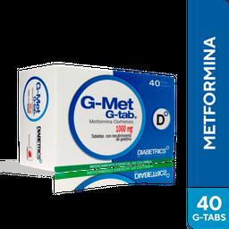 G-Met G-Tab 1000 Mg Cja X 40 Tab Dhc