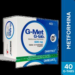 G-Met G-Tab 500 Mg Cjax40Tab Dhc