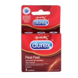 Condón Durex Real Feel x 3 unds