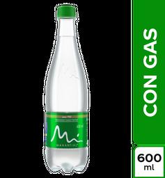 Agua Con Gas - Manantial - Botella Pet 600 Ml