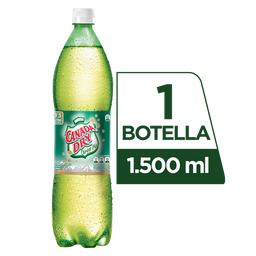Ginger Ale - Canada Dry - Botella Pet 1500 Ml