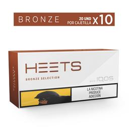 Heets Bronze - Heets - Display X10 20 Cajetillas