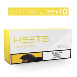 Heets Yellow - Heets - Cartón X10 20 Cajetillas