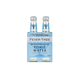 Tónica Mediterranean - Fever Tree - Display X4 Botellas 200 Ml