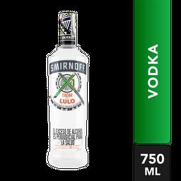 Vodka Smirnoff X1 Shots Sabor A Lulo 750 Ml