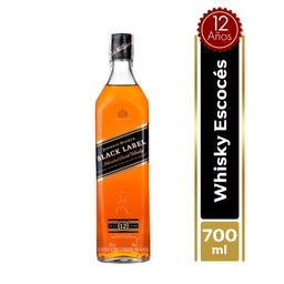 Whisky Johnnie Walker Black Label 700 Ml