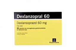 Dexlanzopral 30 Cápsulas 60 mg