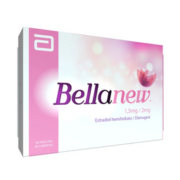Bellanew 28 Tabletas 1.5 mg 2 mg