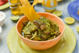 Pulpo al Pesto