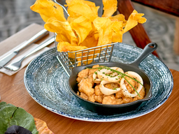 Seafood y Chips