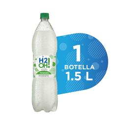 Agua Saborizada Con Gas Limonata - H20H - Botella Pet 1500 Ml